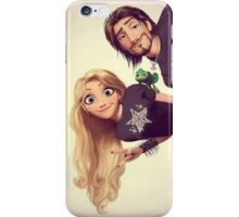 Punk Tangled Rapunzel and Flynn Rider iPhone Case/Skin