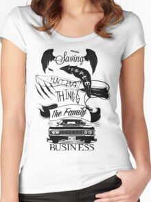 The Family Business Women's Fitted Scoop T-Shirt