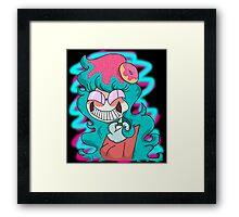 Trickster Becky Framed Print