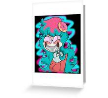 Trickster Becky Greeting Card