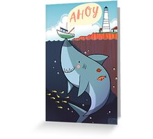 Ahoy! Greeting Card