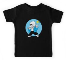 Undertale Sans Video Game Fun Kids Tee