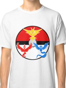 Pokemon GO! Three Teams Classic T-Shirt