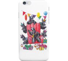 Party scotties iPhone Case/Skin