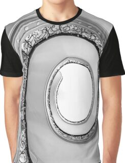Spiral (black and white) Graphic T-Shirt