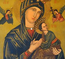 OUR MOTHER OF PERPETUAL HELP by JAYMILO