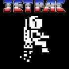 Jetpac Logo and Sprite - Ultimate Play The Game by Buleste