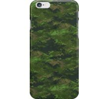 Classic Green Digital Camo Camouflage iPhone Case/Skin