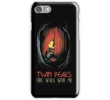 Fire Walk With Me alt Movie Poster iPhone Case/Skin