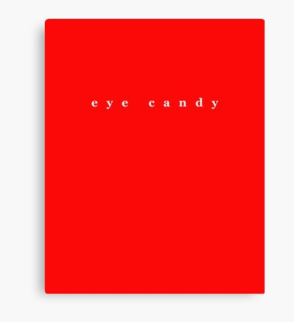 Red Eye Candy Canvas Print