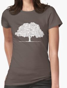 Modern Nature Womens Fitted T-Shirt