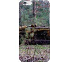 Old Rustic Bulldozer iPhone Case/Skin