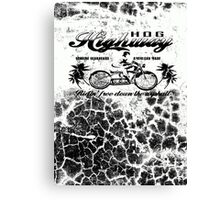 HOG HIGHWAY 2 Canvas Print