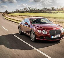 Bentley Continental GT by RossJukesAuto
