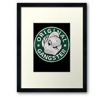 Franklin The Turtle - Starbucks Design Framed Print