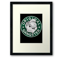 Franklin The Turtle - Starbucks Design Framed Print