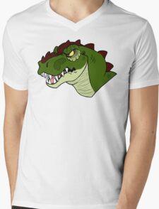 T-Rex Mens V-Neck T-Shirt