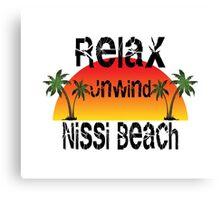 Nissi Beach Cyprus Canvas Print