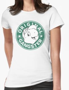Franklin The Turtle - Starbucks Design Womens Fitted T-Shirt