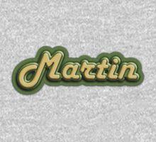 Vintage Martin Guitars One Piece - Long Sleeve