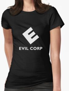 Mr. Robot Evil Corp Logo Womens Fitted T-Shirt