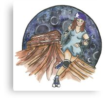 SW Skate girl Canvas Print