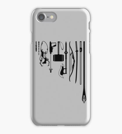 iconic weapons iPhone Case/Skin