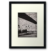 Team of Shadows | Person Of Interest Framed Print