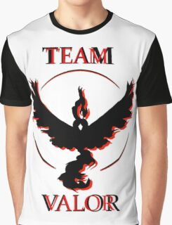 Team Valor (Black/Red) Graphic T-Shirt