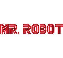 Mr. Robot Logo Photographic Print