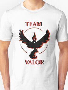 Team Valor (Black/Red) Unisex T-Shirt