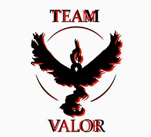 Team Valor (Black/Red) Unisex T-Shirt