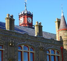 The Clock Tower, The Old Town Hall, Stornoway by BlueMoonRose