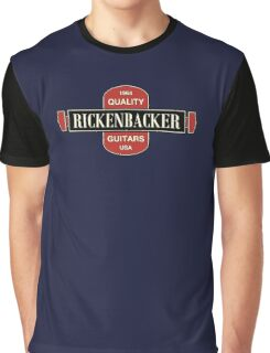 Vintage Rickenbacker Guitars 1964 Graphic T-Shirt