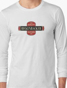 Vintage Rickenbacker Guitars 1964 Long Sleeve T-Shirt