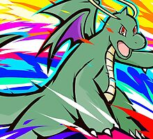 Shiny Dragonite | Outrage by ishmam