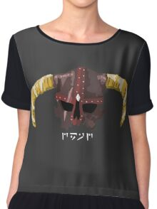The Dragondead Chiffon Top