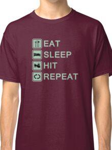 Drummer Routine (green) Classic T-Shirt