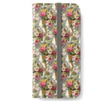 Horn of Flowers Bright iPhone Wallet/Case/Skin