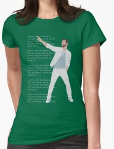Justin T Womens Fitted T-Shirt