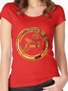 Spring Court Women's Fitted Scoop T-Shirt