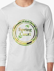 Spring Court Long Sleeve T-Shirt