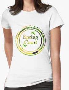 Spring Court Womens Fitted T-Shirt