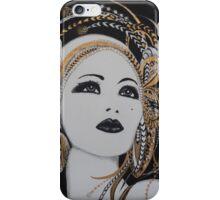 ART DECO GOLD BEAUTY iPhone Case/Skin