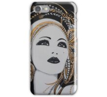 ART DECO GOLD BEAUTY iPhone Case/Skin