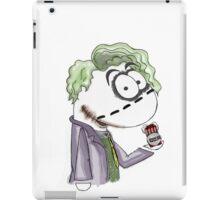 Joker sockpuppet iPad Case/Skin