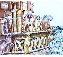 Notre-Dame Sentinels Photographic Print