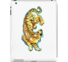Traditional Tiger Tattoo watercolor painting iPad Case/Skin
