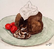 Chocolate Cake by Eva  Ason
