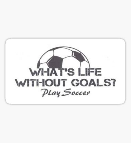 Soccer Life Sticker